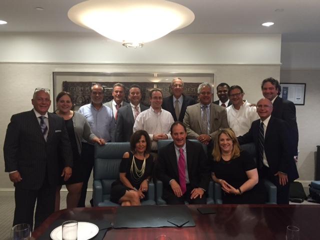 DLSPic - MItchell J. Shore Hosts Delaware Law School Alumni Association