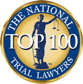 badge top 100 national trial lawyers - Home